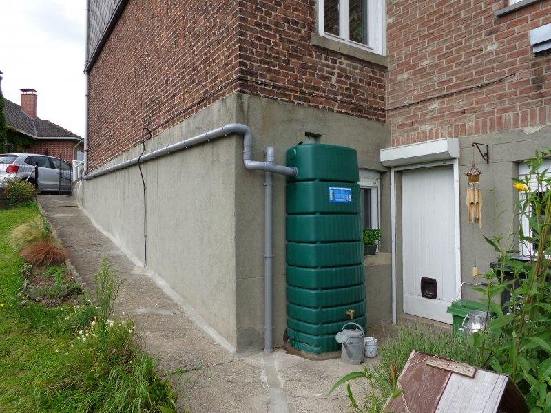 Système de récupération d'eau de pluie
