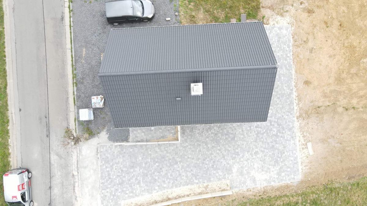 Pose de pavés Marlux pour une habitation à Hannut